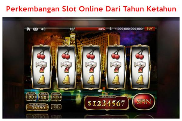 Perkembangan Slot Online Hingga Sekarang